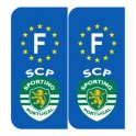 Stickers sporting clube de portugal pour plaque