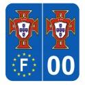 Stickers pour plaques française avec votre département