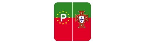 Stickers Portugal pour plaques